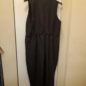 Eloquii black jumpsuit size 22